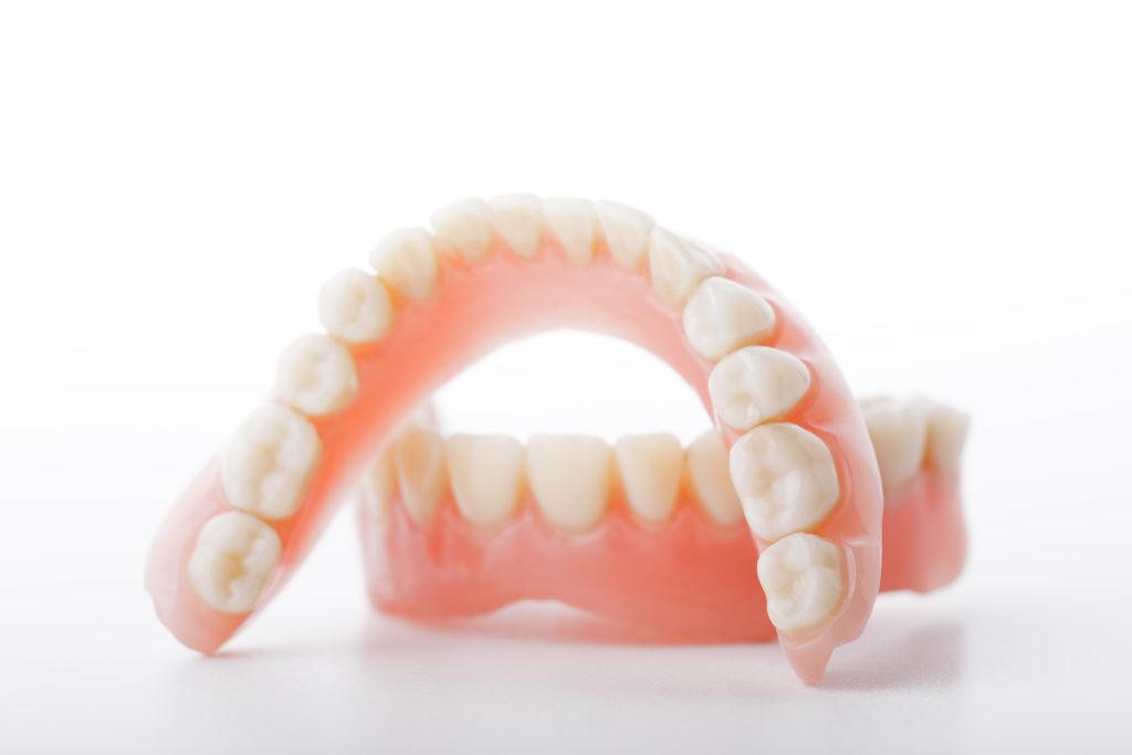 dentures and denture adhesive